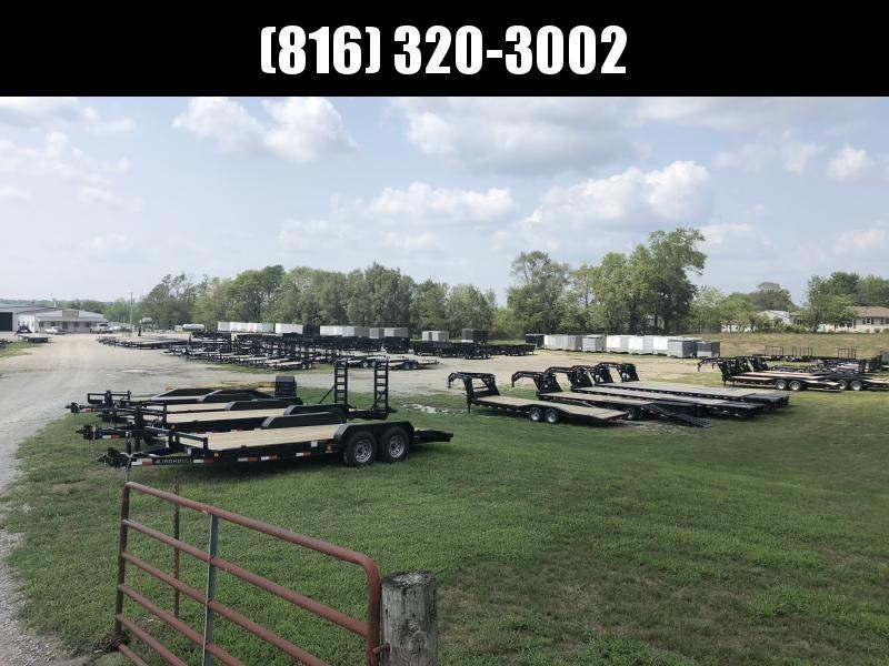 2020 IRON BULL 83X20 EQUIPMENT HAULER TRAILER