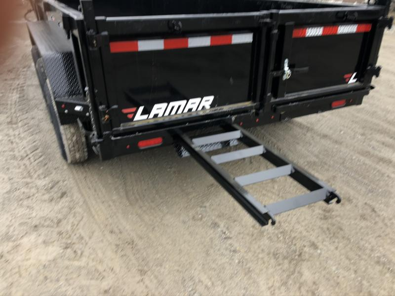 2020 LAMAR 83X16 GOOSENECK DUMP TRIPLE AXLE LOPRO TRAILER