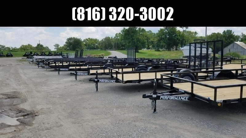 2020 PERFORMANCE 83 x 18 UTILITY TRAILER W/ 52K AXLES
