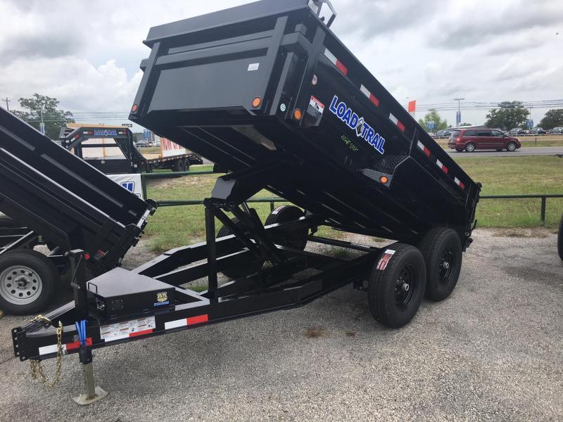 "2020 Load Trail 72"" X 12' Dump Trailer 10K"