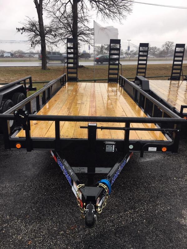 "2020 Load Trail 83"" X 20' 14K Equipment Trailer w/ Fold-Up Ramps"