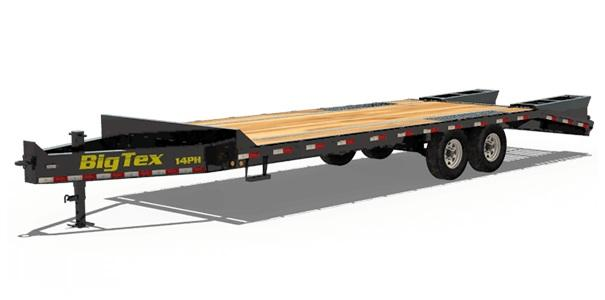 2020 Big Tex Trailers 14PH-20+5BK Equipment Trailer