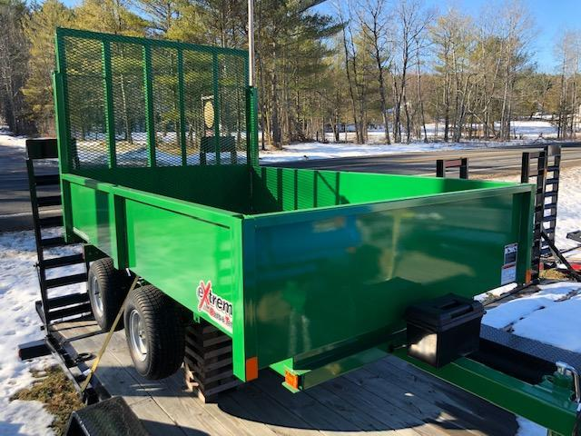 2019 Extreme Manufacturing XRT-418 Dump Trailer