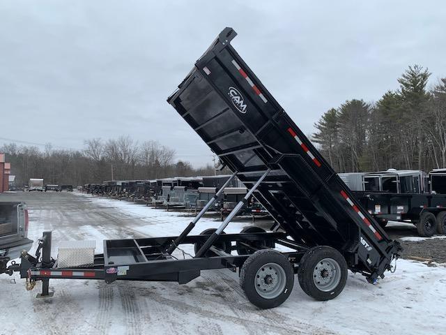 2019 Cam Superline 8 Ton Low Profile Heavy Duty Dump Traile