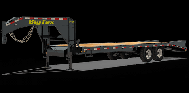 2019 Big Tex Trailers 14GN-20BK+5MR Equipment Trailer