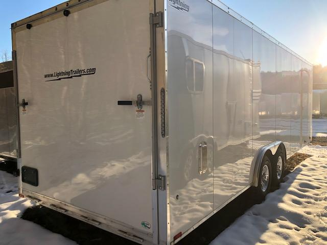 2019 Lightning Aluminum Enclosed Cargo Trailer