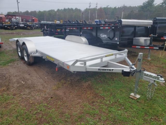 2021 Aluma 8218HTILT-TA3 Car / Racing Trailer