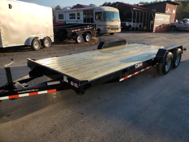 2020 Cam Superline 5 Ton Car Hauler 20FT Wood Deck