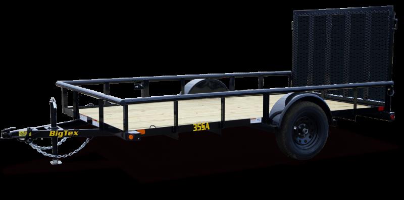2020 Big Tex Trailers 35SA-14X-BK4RG-EB Utility Trailer