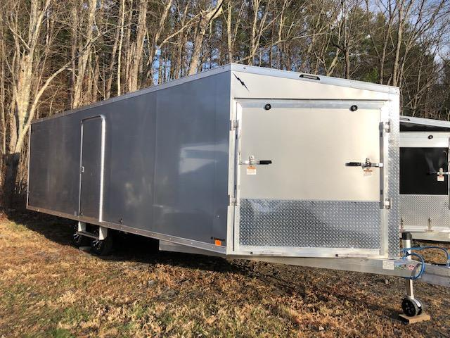 2020 Lightning Trailers LTFES8226.5TA Snowmobile Trailer