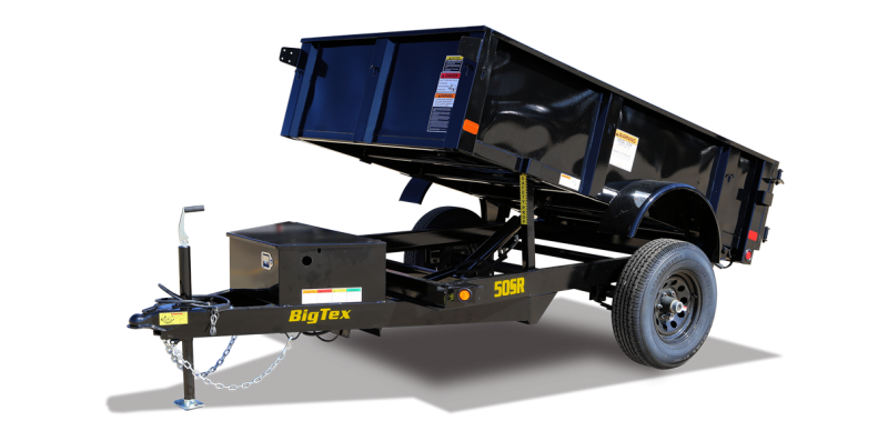 2020 Big Tex Trailers 50SR-08-5WDD Dump Trailer