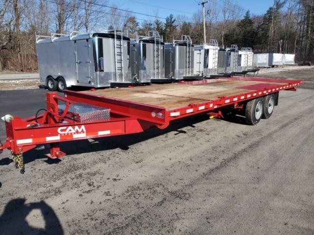 2020 Cam Superline 8 Ton Deckover Split Tilt 8.5 x 20+4