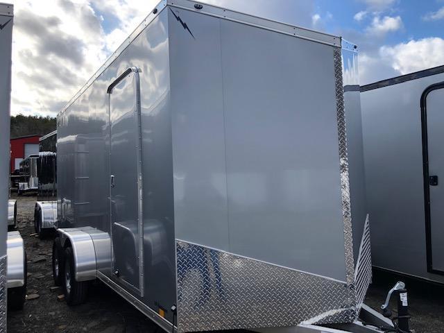 2020 Lightning Aluminum Enclosed Cargo Trailer