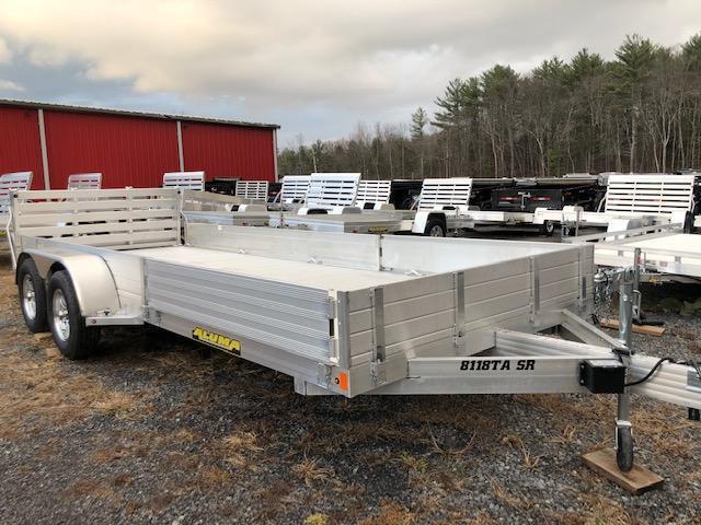 2020 Aluma 8118TA-EL-R-BT-SR Utility Trailer