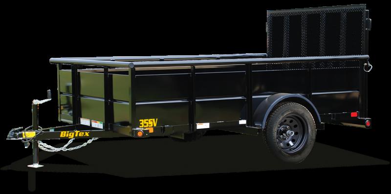 2020 Big Tex Trailers 35SV-12BK4RG Utility Trailer