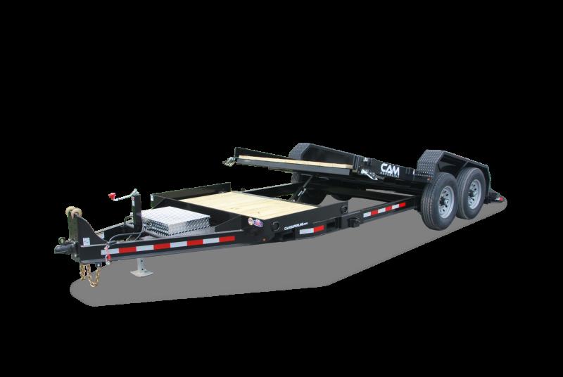 2020 Cam Superline 8 Ton Tilt Trailer Split Deck 8.5 x 17+4