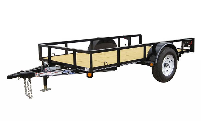 2019 Load Trail SE03 - Single Axle Landscape 77 x 12 Utility Trailer