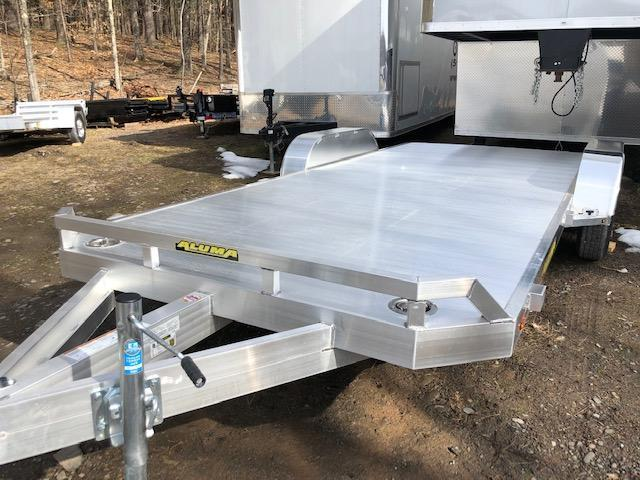 2021 Aluma 8218TA-EL-R-RTD Open Car / Racing Trailer