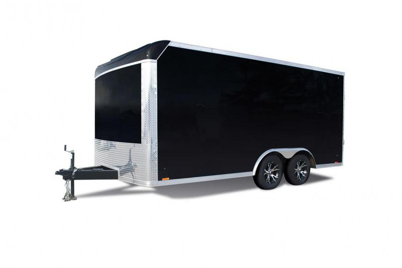2019 Pace American PXT812TE2 Enclosed Cargo Trailer