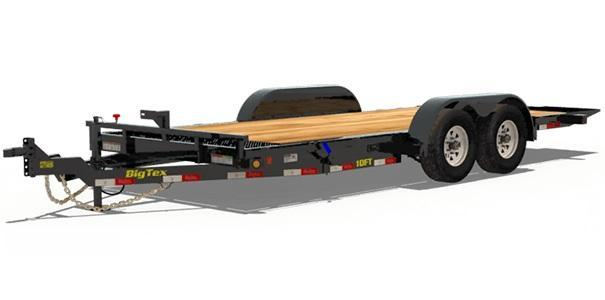 2020 Big Tex Trailers 10FT-18BK Equipment Trailer