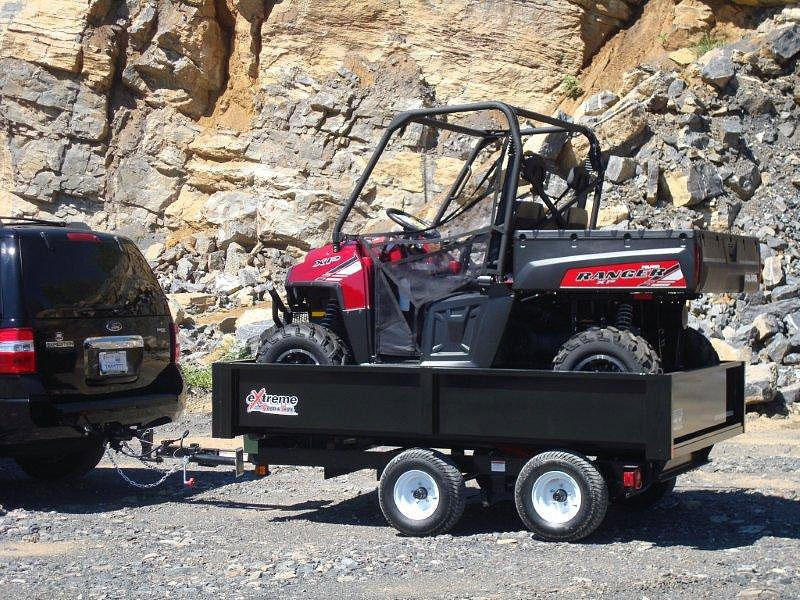 2019 Extreme Manufacturing XRT-415 Dump Trailer