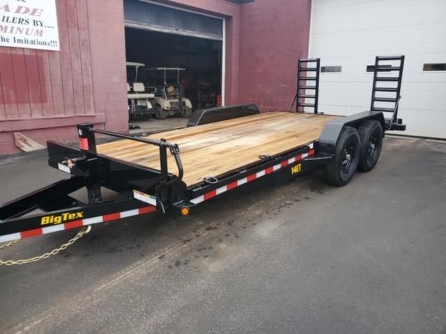 2020 Big Tex Trailers 14ET-18BK-KR Equipment Trailer