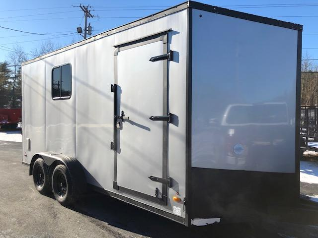 2020 US Cargo 7 x 16 Vee Nose Enclosed Cargo Trailer