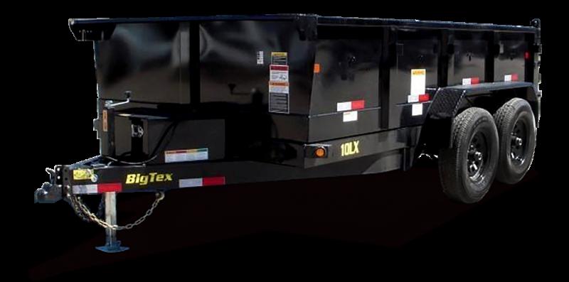 2019 Big Tex Trailers 10LX-12BK7SIR Dump Trailer