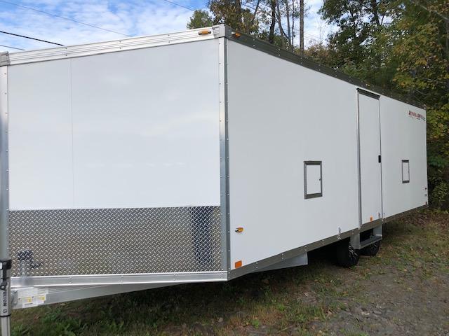 2020 Rance Aluminum Trailers Renegade 4 place enclosed Snowmobile Trailer