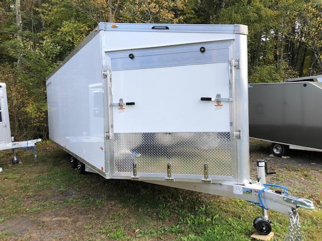 2020 Rance Aluminum Trailers Renegade 4 place enclosed Snowmobile Trailer