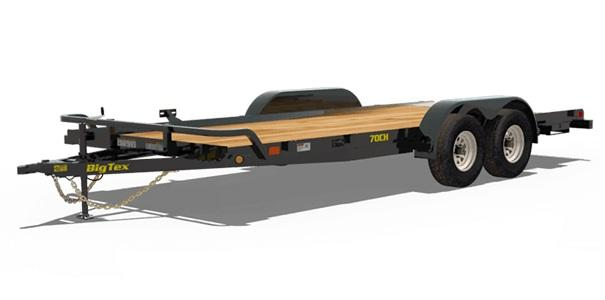 2020 Big Tex Trailers 70CH-18 Car / Racing Trailer
