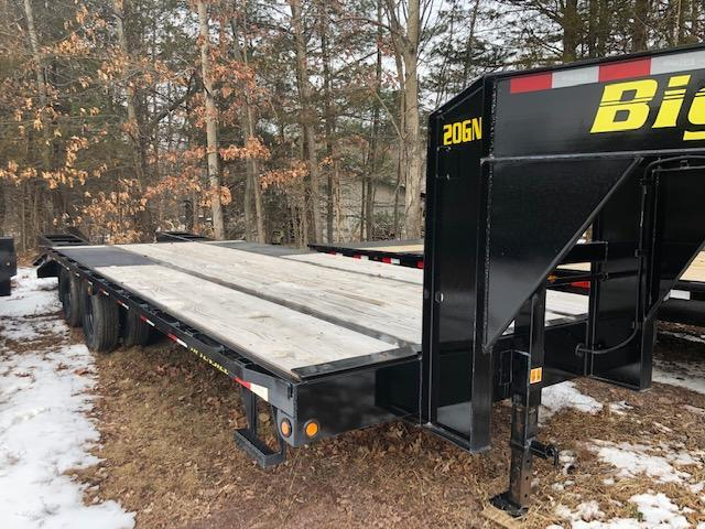 2019 Big Tex Trailers 20GN-20+5 Equipment Trailer