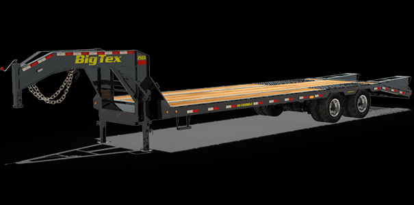2020 Big Tex Trailers 25GN35+5MR Equipment Trailer