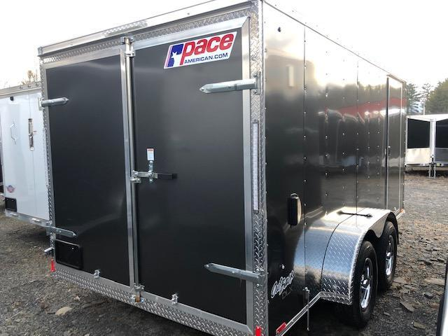 2020 Pace American OB7X14TE2 DLX Enclosed Cargo Trailer