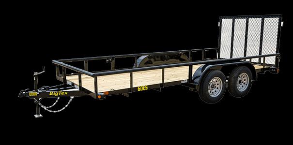 2020 Big Tex Trailers 60ES-14BK Utility Trailer