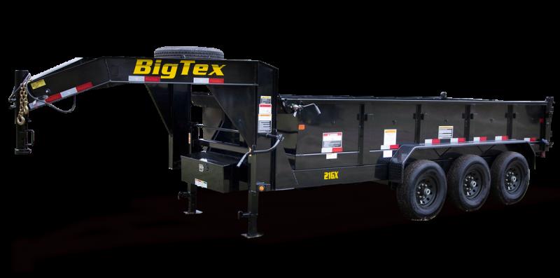 2020 Big Tex Trailers 21GX-16BK7SIR Equipment Trailer