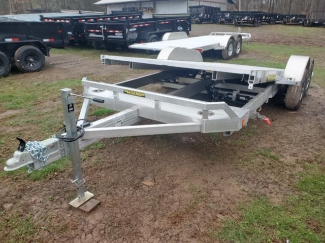 2021 Aluma 8216TILT-TA-EL-RTD Car / Racing Trailer