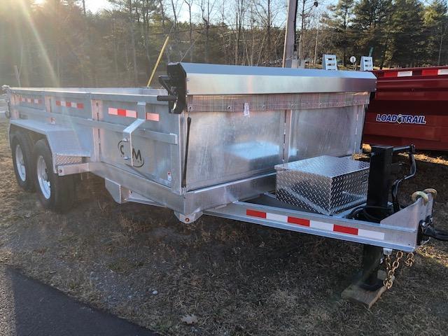 2020 Cam Superline 7 Ton Low Profile GALVANIZED Heavy Duty Dump Traile