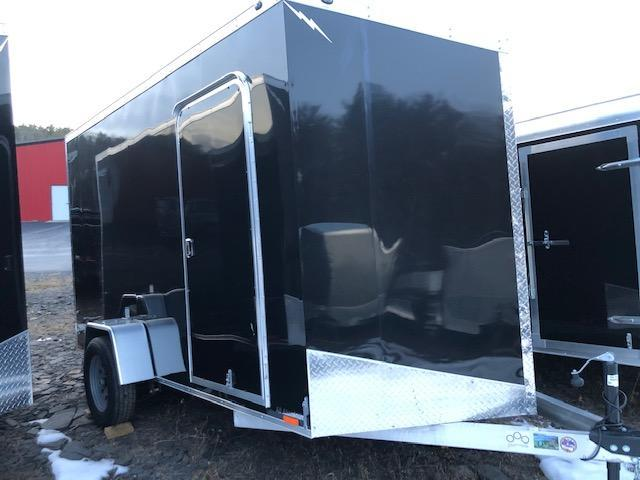 2019 Lightning Aluminum Enclosed Cargo Trailer