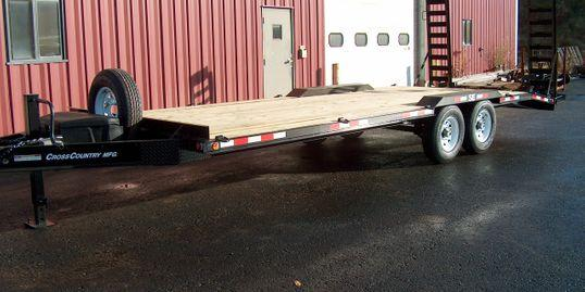 2020 Cross Country Manufacturing 6HD817SE Equipment Trailer