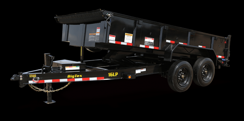 2020 Big Tex Trailers 16LP-16BK Dump Trailer
