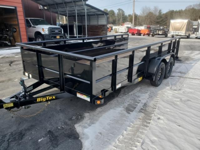 2020 Big Tex Trailers 70TV-14BK Utility Trailer