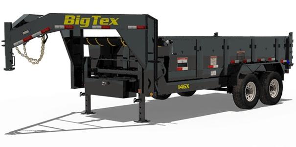 2020 Big Tex Trailers 14GX-16BK-P4 Dump Trailer