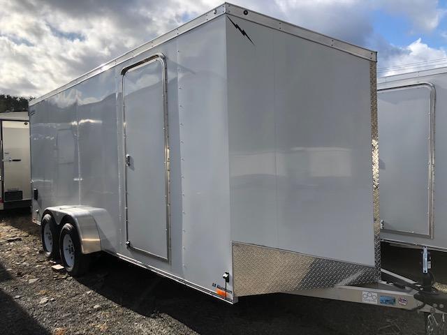 2017 Lightning Aluminum Enclosed Cargo Trailer