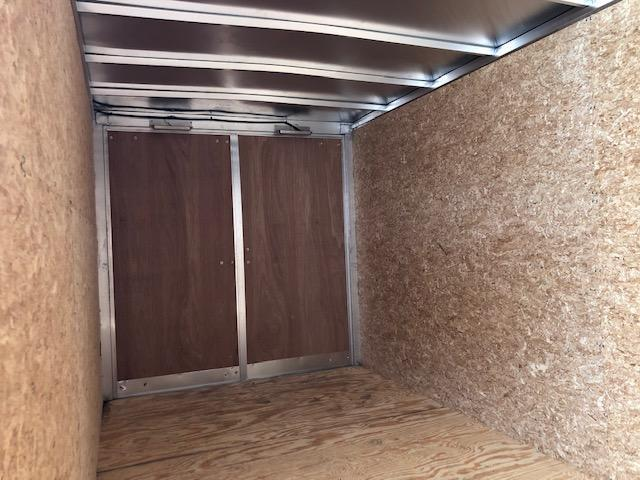 2017 Lightning Aluminum Enclosed Cargo Trailer
