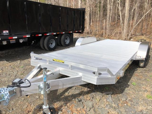 2021 Aluma 8218TA-EL-R-RTD Car / Racing Trailer