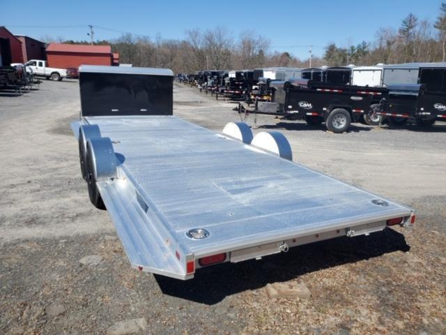 2021 Aluma 8218H-XL-TA-EL-R-RTD-CB Car / Racing Trailer