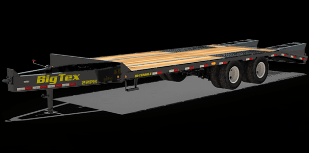 2020 Big Tex Trailers 22PH-20+5MR Equipment Trailer