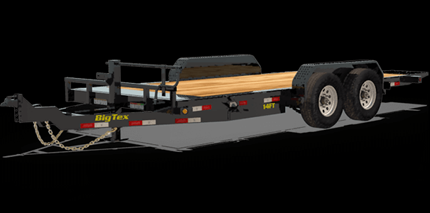 2020 Big Tex Trailers 14FT-20BK Equipment Trailer