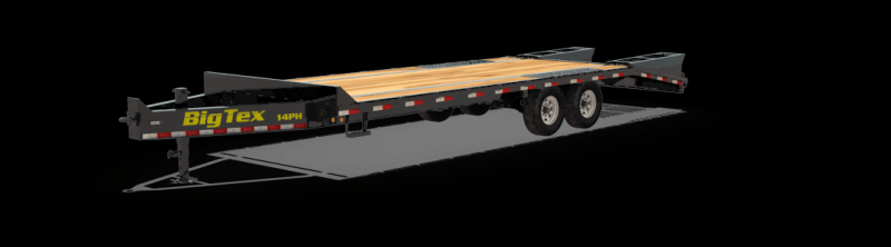 2020 Big Tex Trailers 14PH-20BK+5MR Equipment Trailer